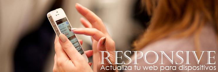 Sistema responsive para dispositivos.