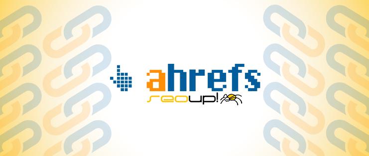 Análisis de backlinks con Ahrefs.