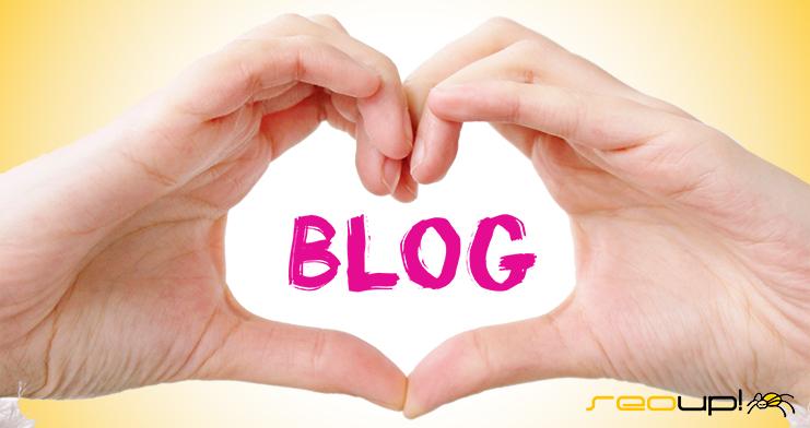 El blog es el corazón de todo.