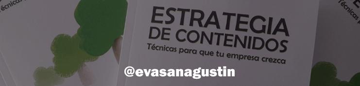 Libro de Eva San Agustin: Estrategias de contenidos.