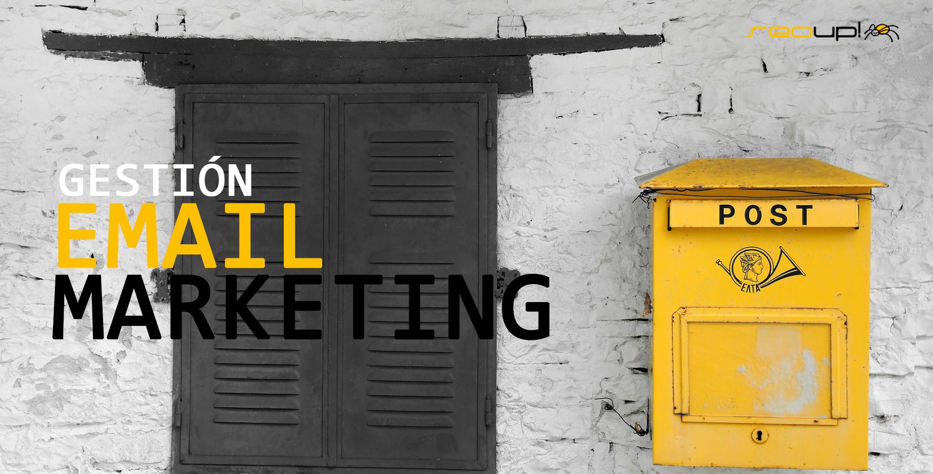 Servicios de envíos de Newsletters mediante Email Marketing.
