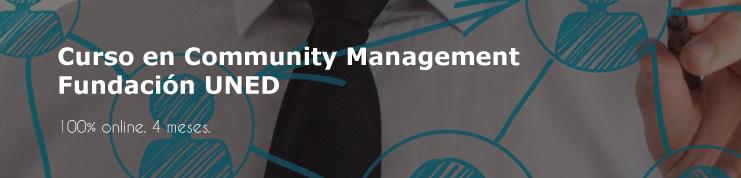 La fundación UNED tiene un curso de community manager 100% online.