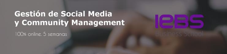 Si te interesa estudiar un curso de community manager online, debes conocer el de iebs.