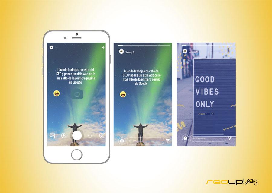 Aprovecha Instagram stories para poner en práctica tu creatividad