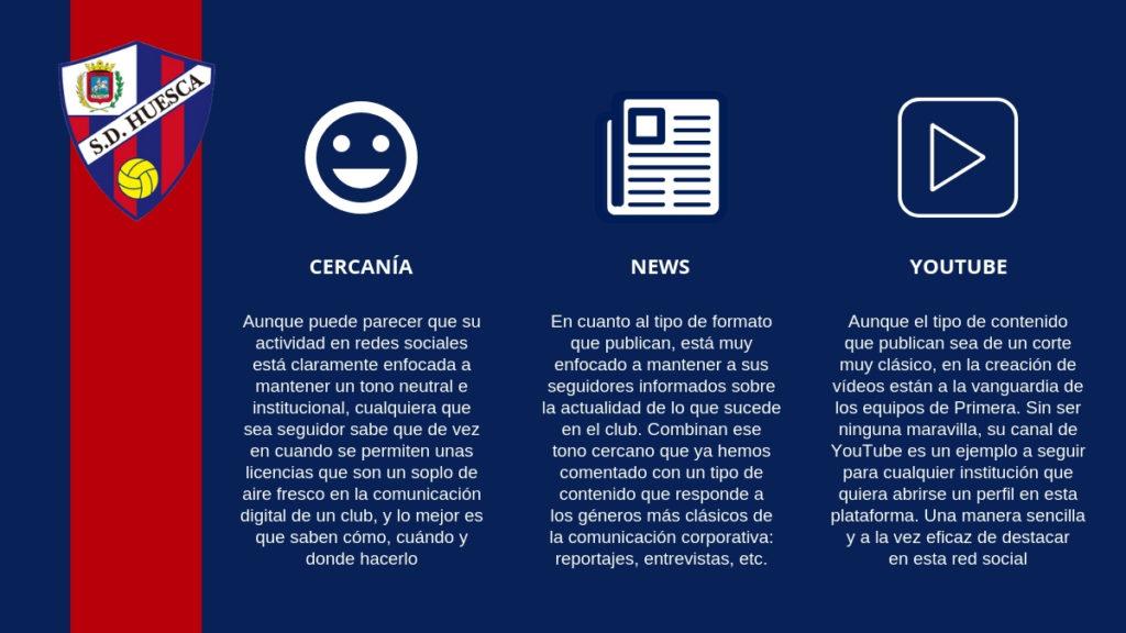 El SD Huesca es un ejemplo a seguir en lo que a gestión de redes sociales se refiere.